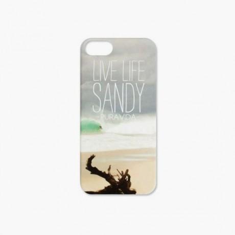 Coque iPhone 5 Pura Vida Live Life Sandy