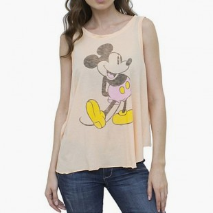 Mickey Mouse Tank Butterfly