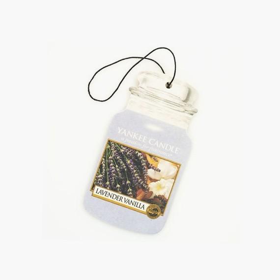 Yankee Candle Lavender Vanilla Classic Car Jar