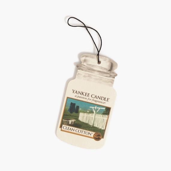 Yankee Candle Clean Cotton Classic Car Jar Fresh