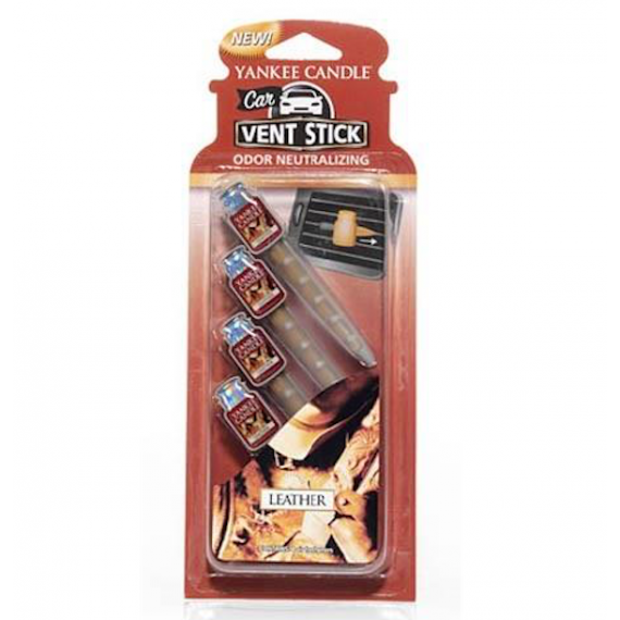 Leather Vent Stick Neutraliseur Yankee Candle