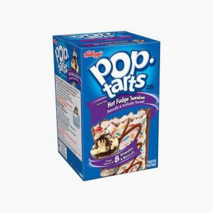 Pop Tarts Hot Fudge Sundae