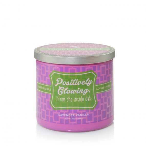 Yankee Candle Positively Glowing - Lavender Vanilla
