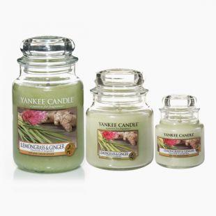 Lemongrass &  Ginger Bougies Jarres
