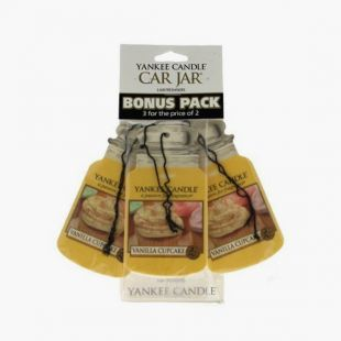 Vanilla Cupcake bonus Pack Classic Car Jar
