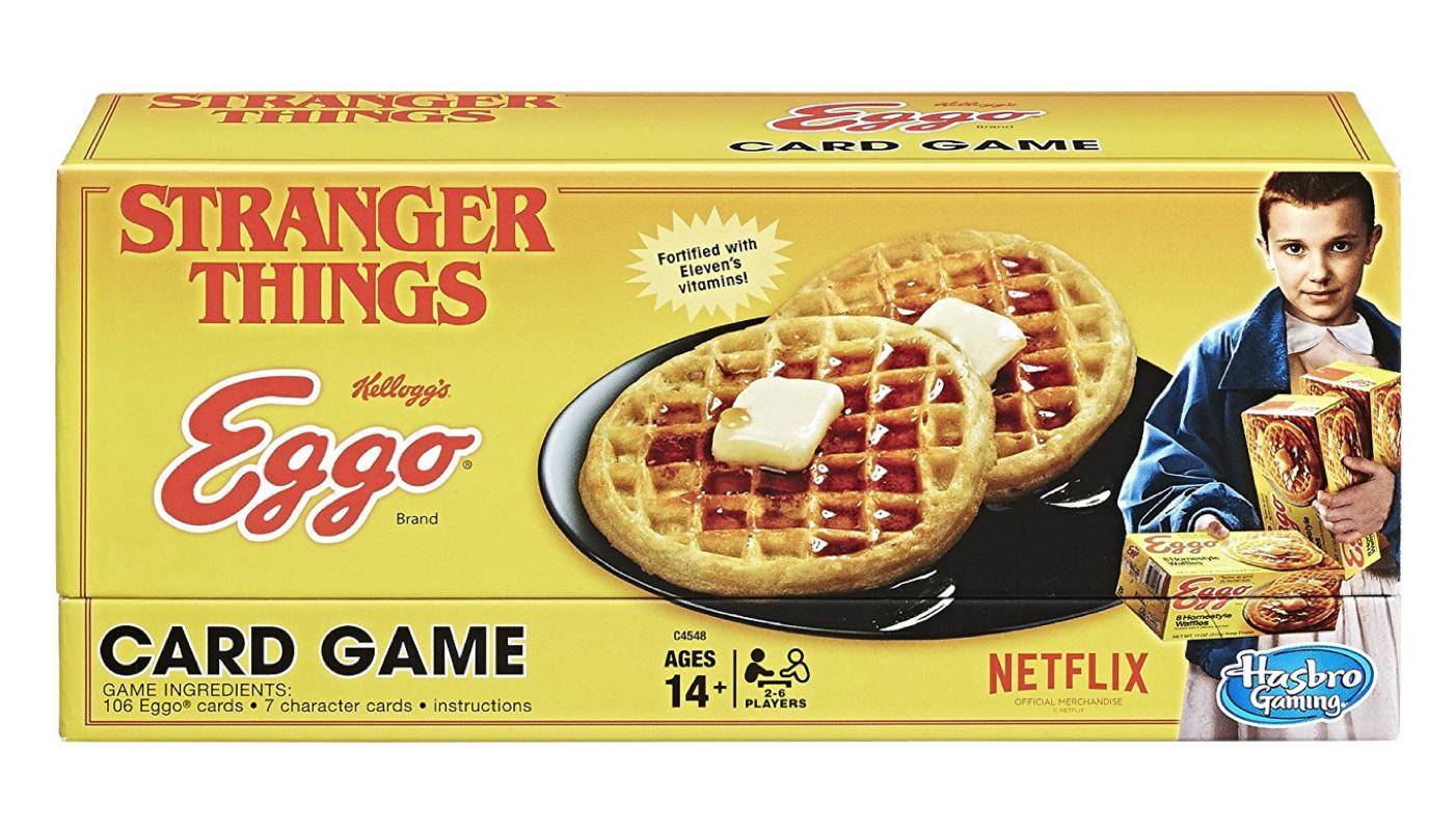 Stranger Things Eggo Jeu de cartes