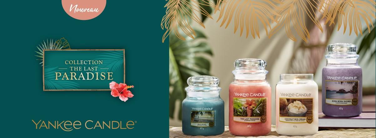 nouvelle collection bougies yankee candle the last paradise