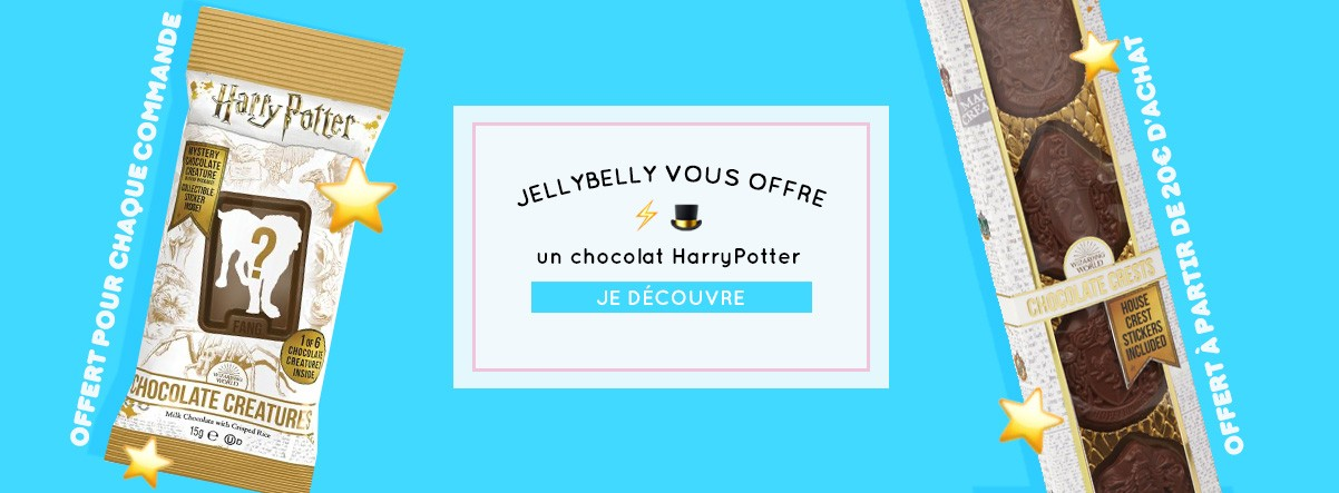 HarryPotter Chocolats offert epicerie americaine
