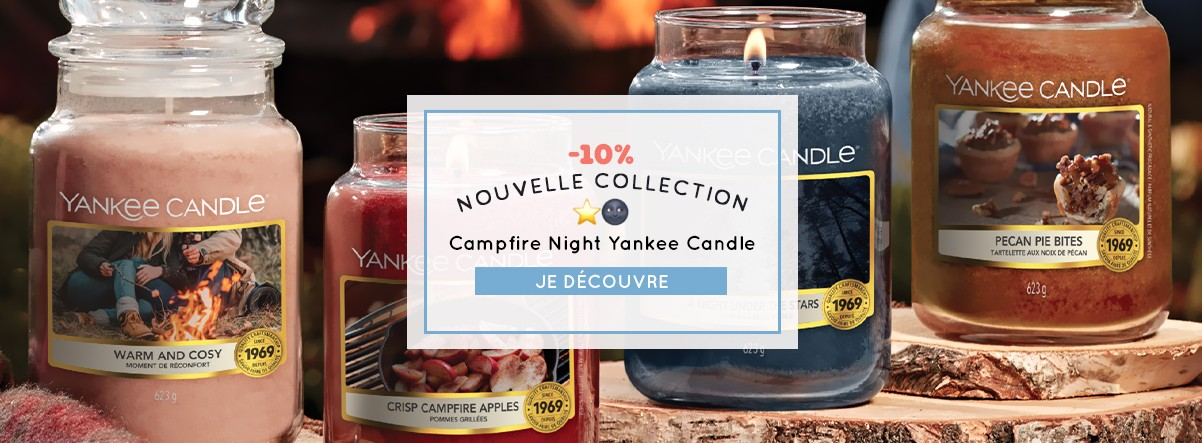 nouvelle collection yankee candle campfire night promo